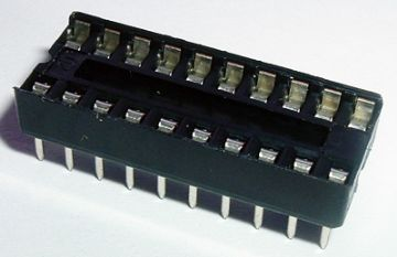 20 Pin DIL IC Socket Pack of 12